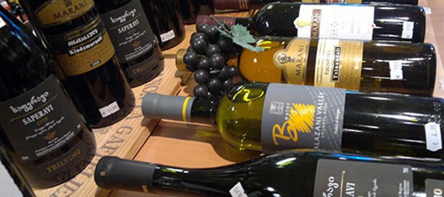 იანვარ-ივნისის პერიოდში საქართველოდან 33 ქვეყანაში 13 165 653 ბოთლი ღვინოა ექსპორტირებული