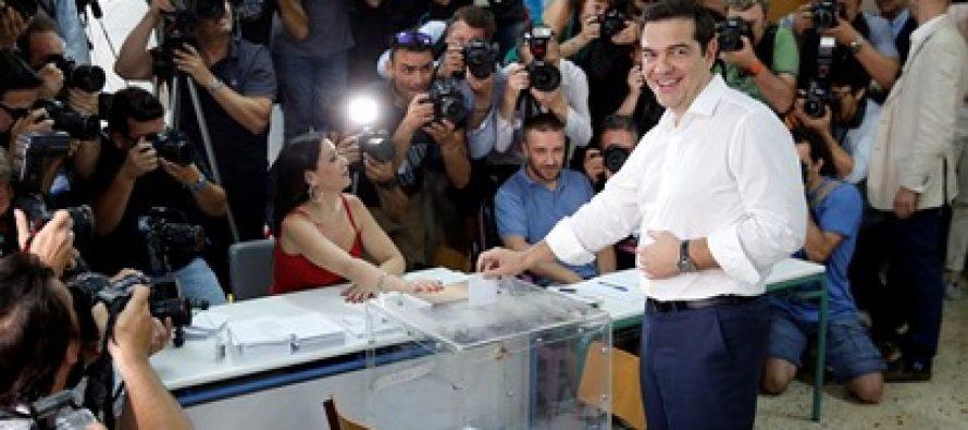 საბერძნეთის რეფერენდუმში ,,არას,, მომხრეები ლიდერობენ