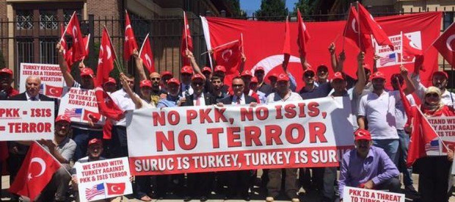 თურქეთი სახიფათო ფაზაში შედის და ბრძოლის ველს ემსგავსება…