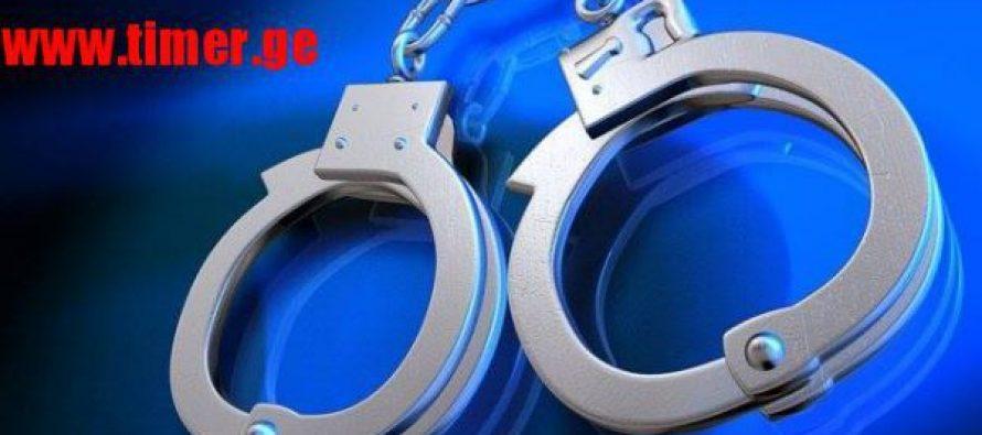 """გურიის პოლიციამ წარსულში ნასამართლევი 4 პირი """"ქურდული სამყაროს"""" წევრობის ბრალდებით დააკავა"""