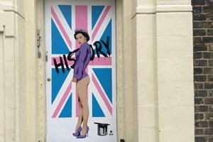 ბრიტანელმა მხატვარმა დედოფალი ელიზავეტა ნიუს სტილში დახატა