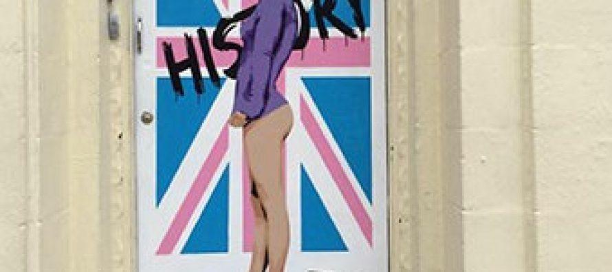 ბრიტანელმა მხატვარმა დედოფალი ელისაბედი ნიუს სტილში დახატა