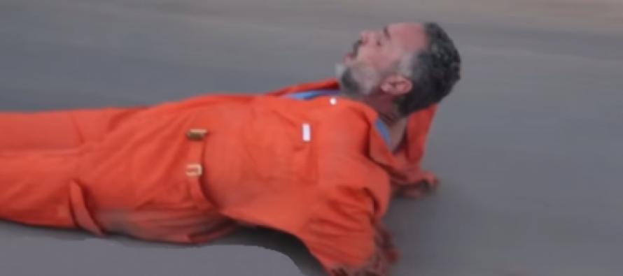 ISIS-ი სიკვდილით დასჯის შემზარავ კადრებს ავრცელებს… (VIDEO +18)