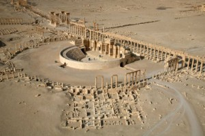 ისლამურმა სახელმწიფომ პალმირას ტრიუმფალური თაღი გაანადგურა