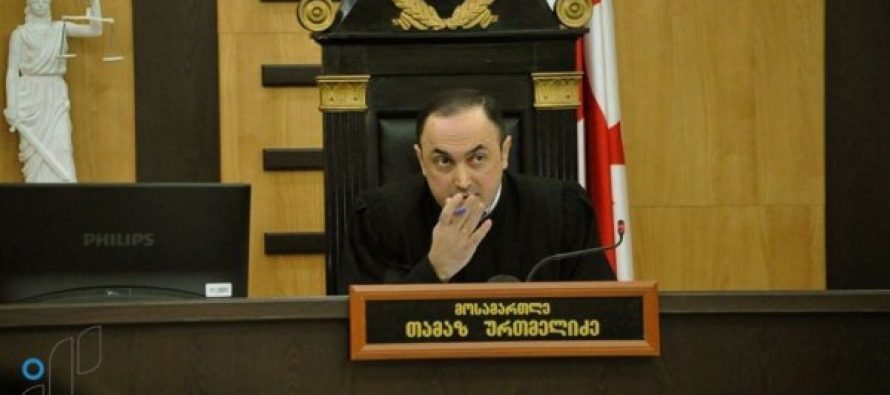 ზაზა ბიბილაშვილი: მოსამართლე ურთმელიძეს თავზე ხელი აქვს აღებული