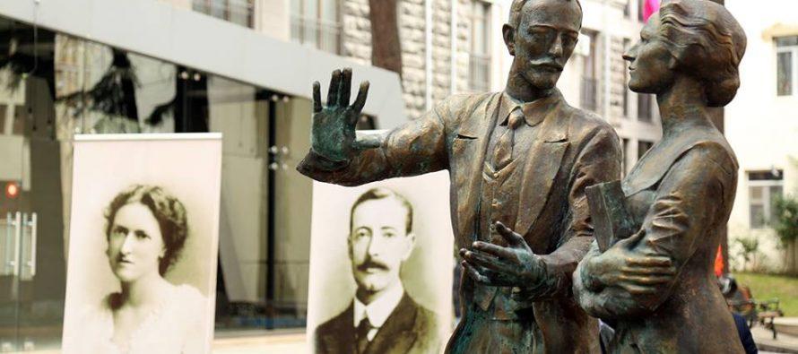 უორდროპების სახელობის სკვერში საქართველოში პირველი ელჩის ძეგლი გაიხსნა