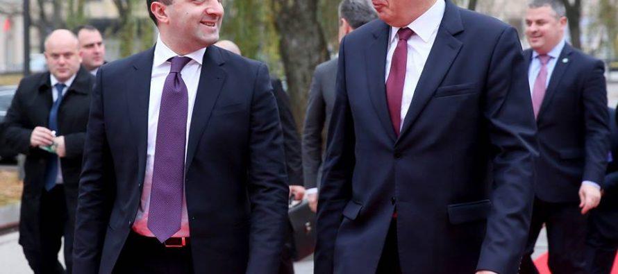 ირაკლი ღარიბაშვილი ლიტვის პრემიერ-მინისტრს შეხვდა