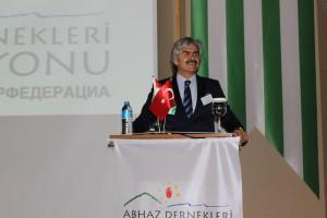 თურქეთში აფხაზური სათვისტომოების ფედერაციის პრეზიდენტი აჰმეთ ჯეილან ჰაპატი
