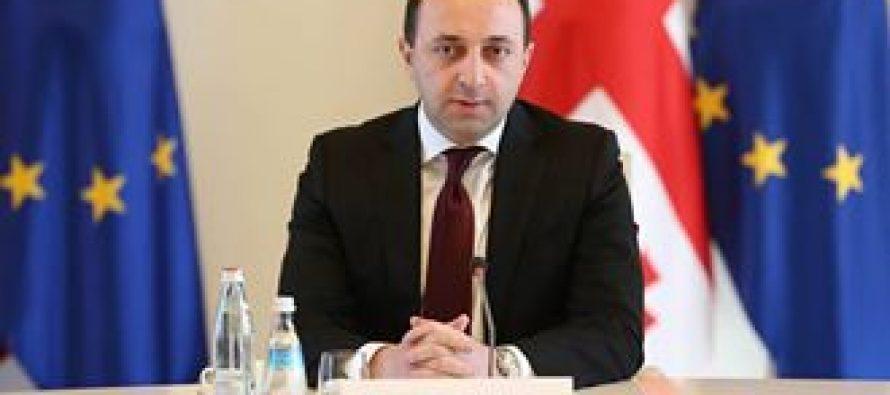 ირაკლი ღარიბაშვილმა საქართველოში ნატო-ს სამეკავშირეო ოფისის ხელმძღვანელს უმასპინძლა