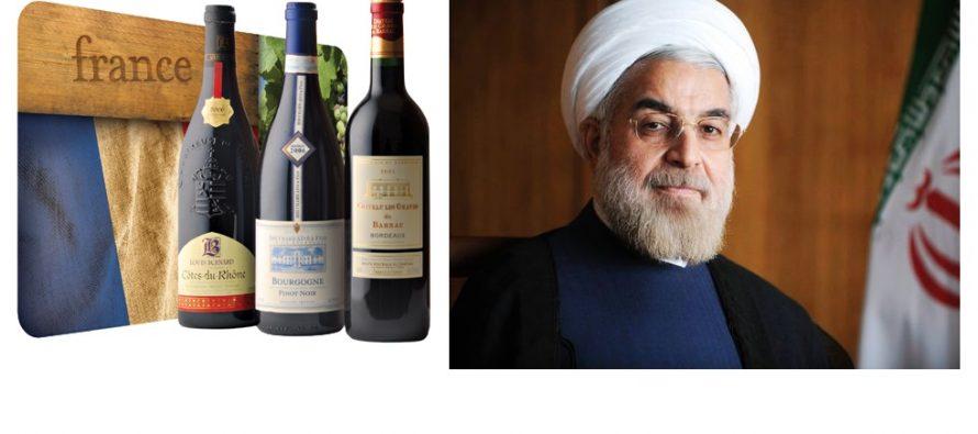 ფრანგული ღვინის გამო შეიძლება ირანთან მოლაპარაკება ჩაიშალოს…