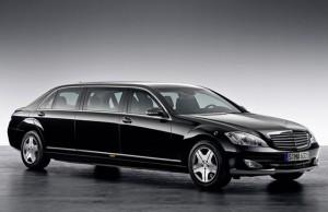 კენიის პრეზიდენტი - უჰურუ კენიატა Mercedes- Benz Pullman S600