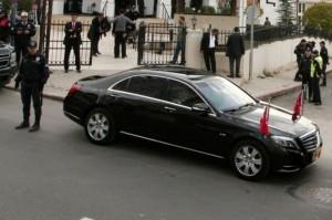 თურქეთი -ტაიპ ერდოღანი Mercedes S600 Long