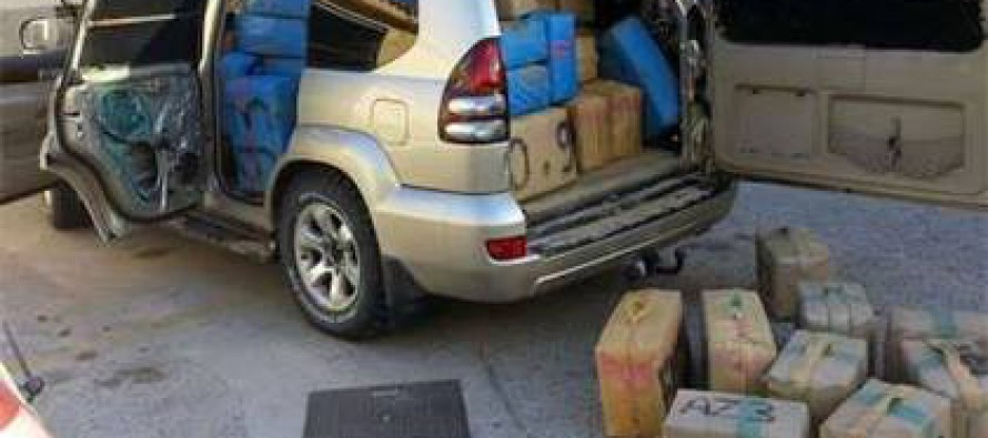ესპანეთის ნაპირზე ორი ტონა ჰაშიშით დატვირთული მანქანა იპოვეს
