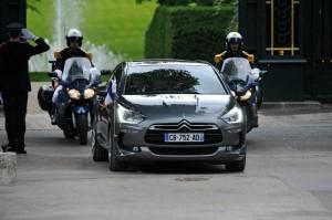 საფრანგეთის პრეზიდენტი - ფრანსუა ოლანდი Citroen Bespoke DS5