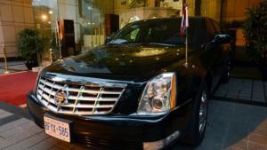 კანადის პრემიერი - სტივენ ჰარპერი Cadillac limousine