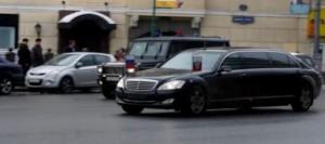 რუსეთი - ვლადიმერ პუტინი Mercedes-Benz S 600