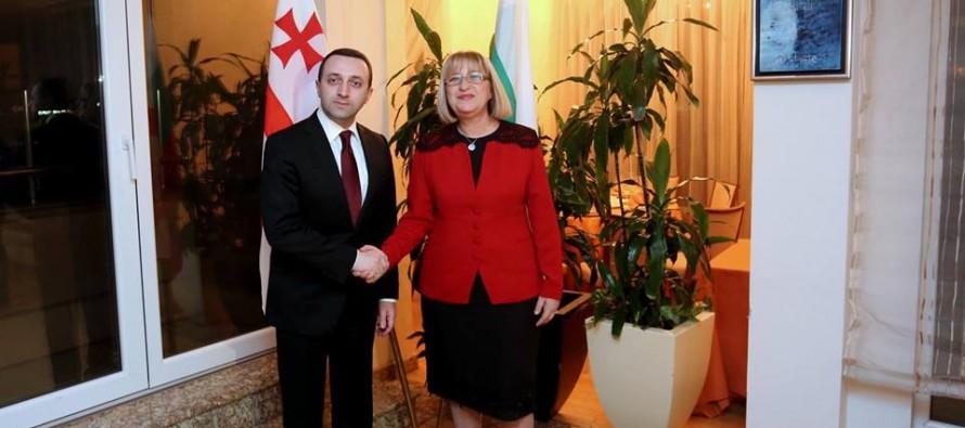 პრემიერ-მინისტრს ბულგარეთის ეროვნული ასამბლეის სპიკერმა ოფიციალურ ვახშამზე უმასპინძლა