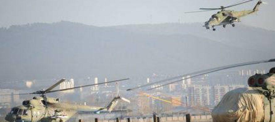 სირიაში რუსული Ми-35М შენიშნეს