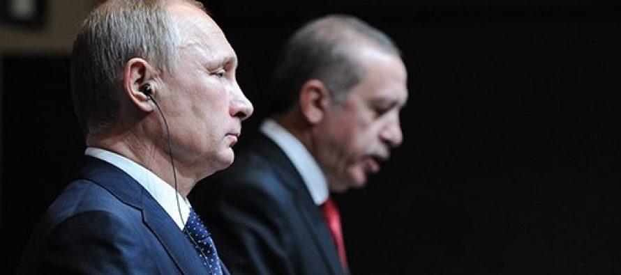 (ვიდეო) სანკტ-პეტერბურგში რუსეთის და თურქეთის პრეზიდენტების შეხვედრა დაიწყო