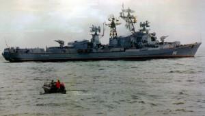 რუსულმა სამხედრო გემმა თურქულ სათევზაო ხომალდს ცეცხლი გაუხსნა