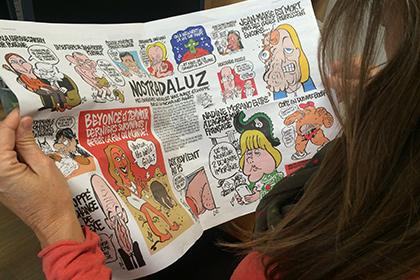 Charlie Hebdo მასზე თავდასხმის წლისთავზე მილიონი ტირაჟით გამოვა