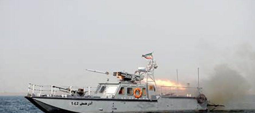 ირანელმა მეზღვაურებმა ამერიკული გემი სწავლების ზონიდან გააგდეს