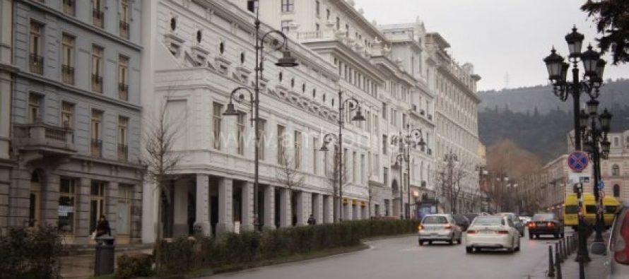 პუშკინის ქუჩაზე ორმხრივი მოძრაობა ივლისში აღდგება