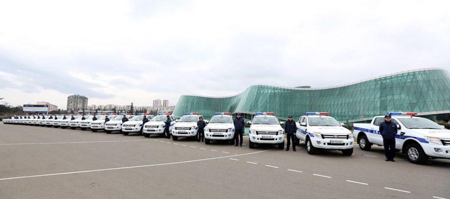 შსს-ს რეგიონების პოლიციის დეპარტამენტებს ახალი ავტომობილები გადაეცათ