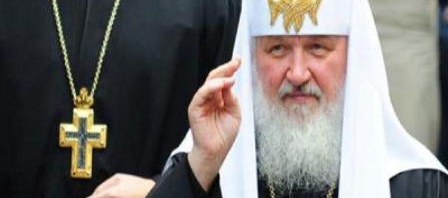 რუსეთის პატრიარქმა კათოლიკებს მოუწოდა ერთად იბრძოლონ დექრისტიანიზაციის წინააღმდეგ