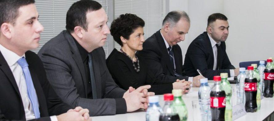 იუსტიციის მინისტრმა ჰააგის სისხლის სამართლის საერთაშორისო სასამართლოს სამუშაო ჯგუფთან შეხვედრა გამართა