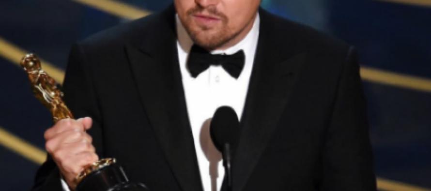 ოსკარი 2016 – წლის საუკეთესო მსახიობი მამაკაცი ლეონარდო დი კაპრიო გახდა