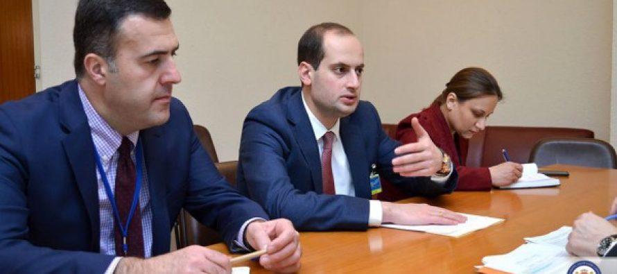 საგარეო საქმეთა მინისტრმა საქართველოში ისრაელის საგანგებო და სრულუფლებიანი ელჩი მიიღო