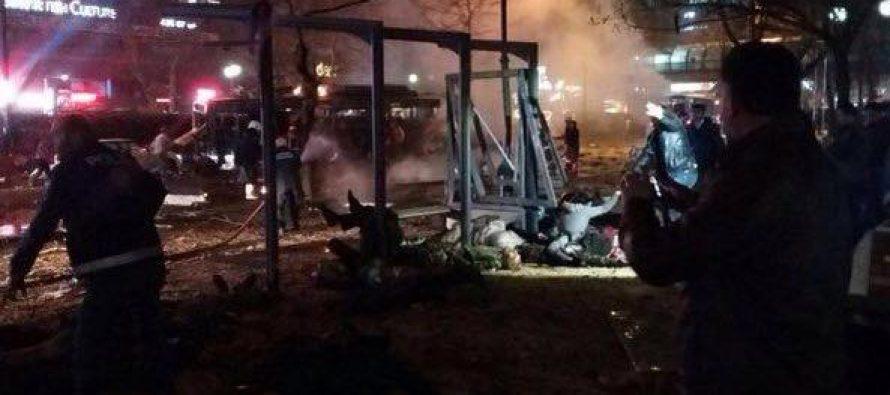 (video)თურქეთში მომხდარ აფეთქებას 18 ადამიანი ემსხვერპლა