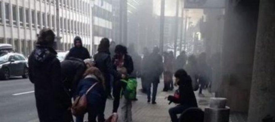 (video)ბრიუსელის აეროპორტში თვითმკვლელმა ტერორისტმა აიფეთქა თავი