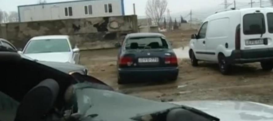 დიდ დიღომში საცხოვრებელი კორპუსების სარდაფები დაიტბორა – დაზიანებულია ავტომობილებიც
