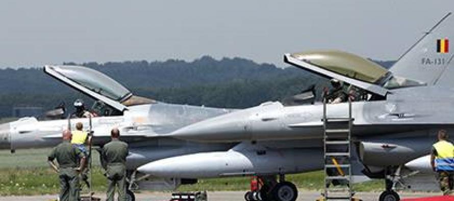 """ბელგია F-16-ებს აგზავნის """"ისლამურ სახელმწიფოსთან"""" საბრძოლველად"""