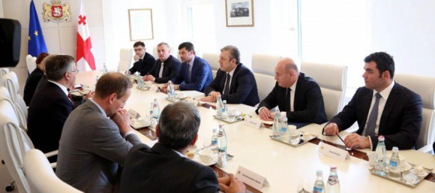 """გიორგი კვირიკაშვილი """"აჭარისწყალი ჯორჯიას"""" """"აჭარისწყალი ჯორჯიას"""" სამეთვალყურეო საბჭოს თავმჯდომარეს შეხვდა"""