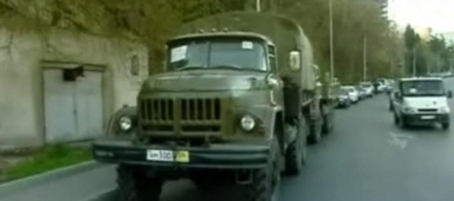 შს სამინისტრო – რუსულნომრიანი ავტომანქანები, რომლებიც თბილისში გადაადგილდებოდნენ, ჩამოწერილი ტექნიკაა