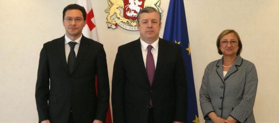 პრემიერი ბულგარეთის  საგარეო საქმეთა მინისტრს და ევროპის საბჭოს გენერალური მდივნის მოადგილეს შეხვდა