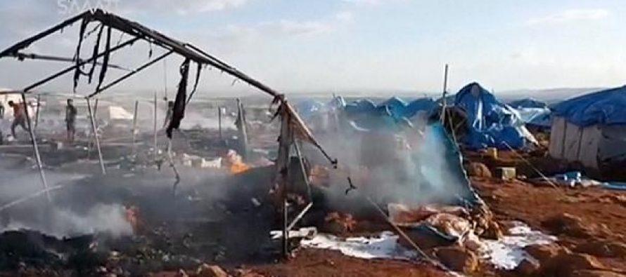 გაერო: დევნილების ბანაკის დაბომბვა სამხედრო დანაშაულია