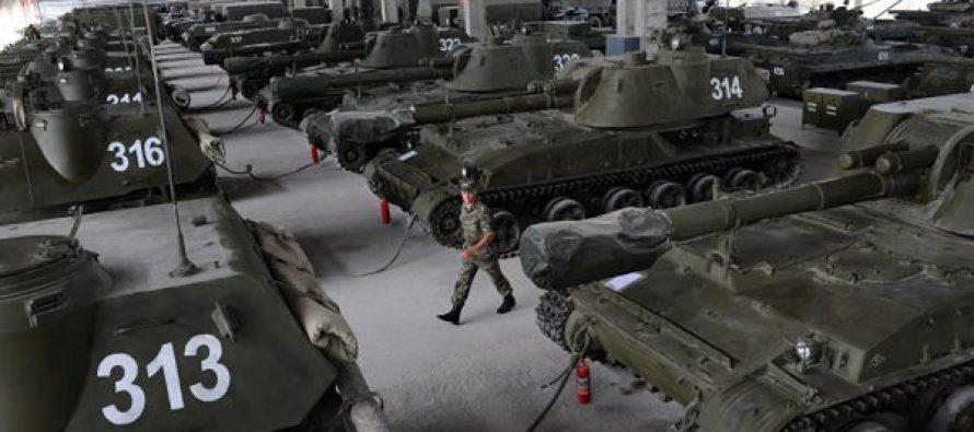 ე.წ. სამხრეთ ოსეთის სამხედროებმა ზაფხულისათვის ათასი ერთეული ტექნიკა მოამზადეს
