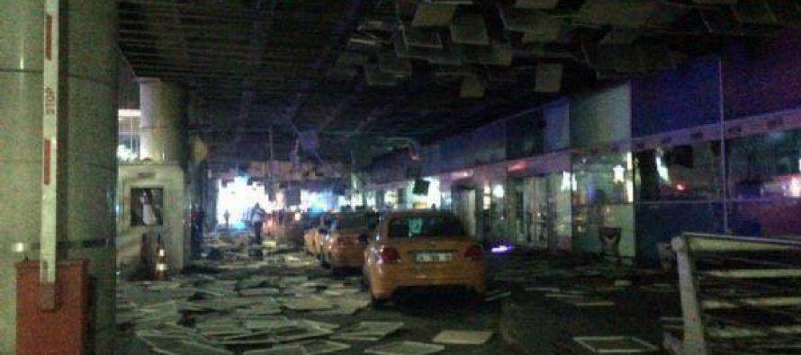 ათათურქის აეროპორტში აფეთქებების შედეგად დაიღუპა სამი და დაშავდა 50-მდე ადამიანი