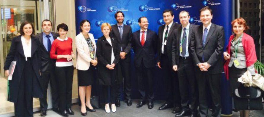 ბრიუსელში საქართველო-ევროკავშირის ასოცირების კომიტეტის სხდომა გაიმართა