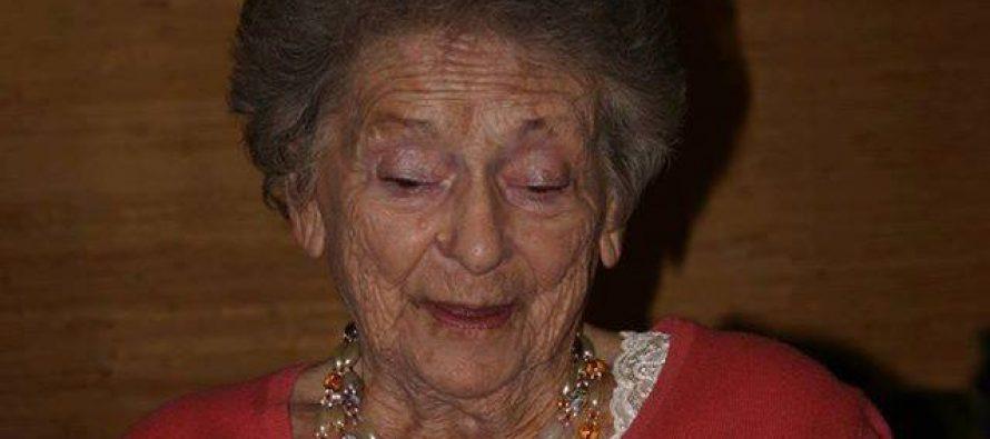 98 წლის ასაკში ნოე ჟორდანიას ქალიშვილი ნათელა ჟორდანია გარდაიცვალა