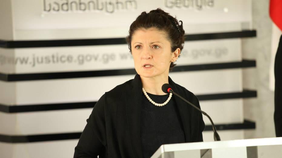 იუსტიციის მინისტრი საკონსტიტუციო სასამართლოს განცხადებებს პასუხობს