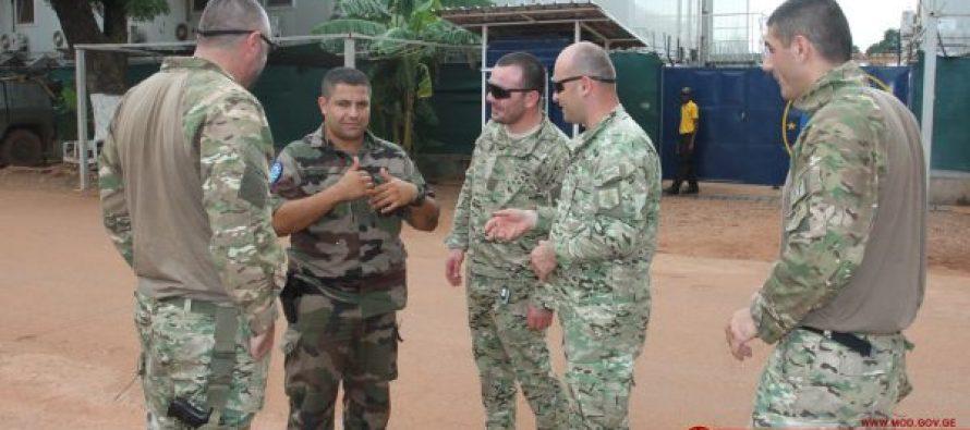 ქართული სწრაფი რეაგირების ხუთეული სამხედრო-მრჩეველთა მისიაში მონაწილეობს