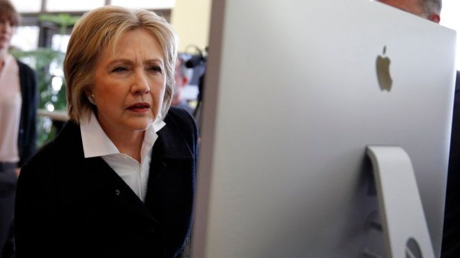 ჰილარი კლინტონის საარჩევნო შტაბის მონაცემთა ბაზა გატეხეს