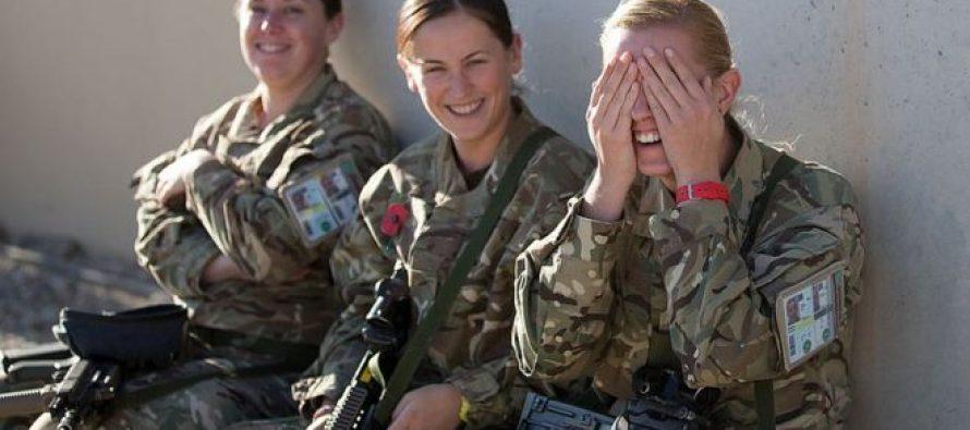 ბრიტანეთმა ქალებს წინა ხაზზე ბრძოლის უფლება დართო