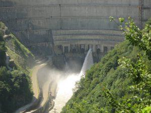 ენგურჰესში აწეულ წყლის დონეს შეიძლება, წყალმოვარდნები მოჰუყვეს