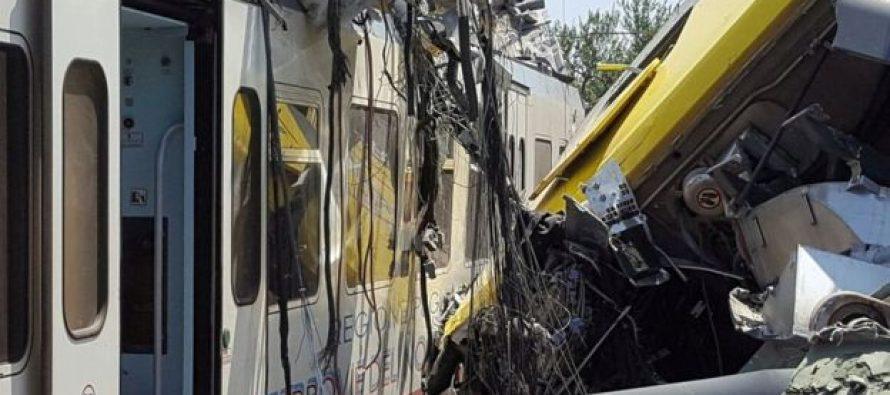 იტალიაში მატარებლების შეჯახების შედეგად გარდაცვლილთა რიცხვი 20-მდე გაიზარდა